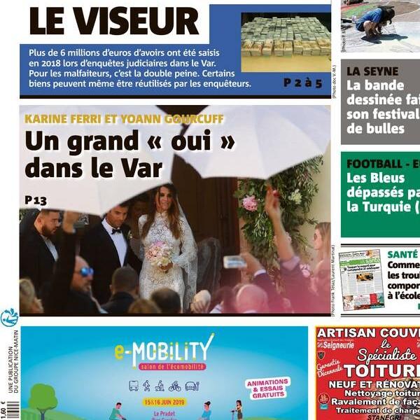 Karine Ferri et Yoann Gourcuff mariés  leur mariage rêvé dans le Var ,  Purepeople