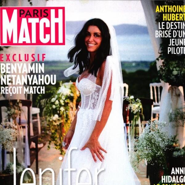 Jenifer mariée à Ambroise  première photo dans sa robe
