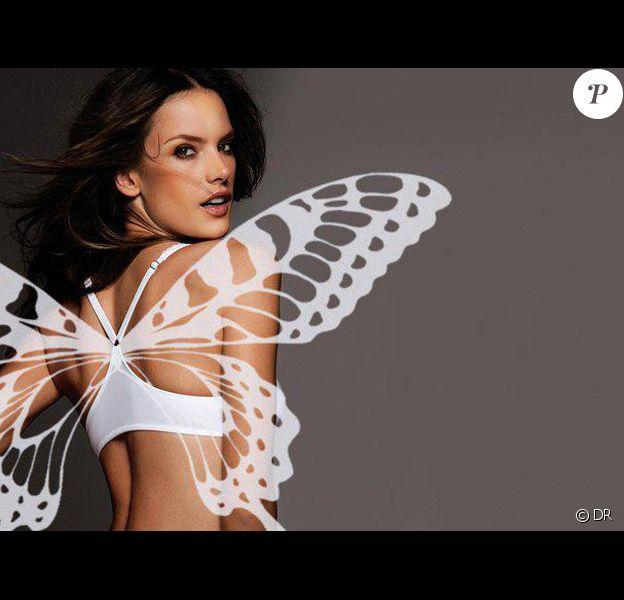 Photo personelle d'Alessandra Ambrosio, égérie et ange de Victoria's Secret