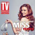 Delphine Wespiser en couverture de TV Magazine