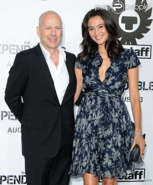 Bruce Willis et Emma Heming le 3 août 2010 à Los Angeles