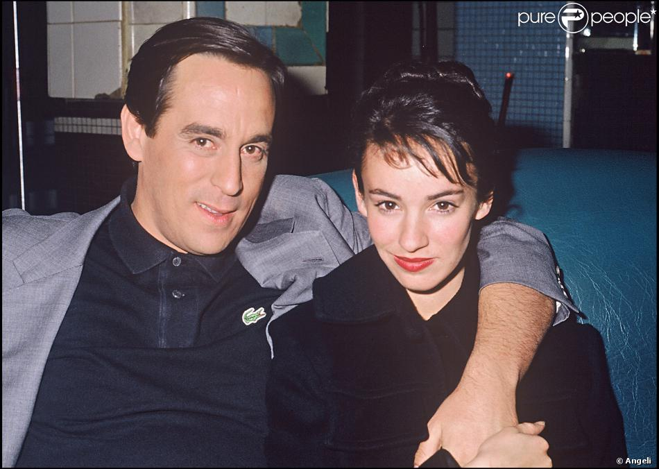 thierry ardisson et sa femme b atrice en 1988. Black Bedroom Furniture Sets. Home Design Ideas