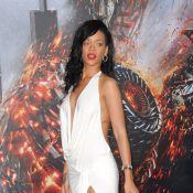 Rihanna : Très décolletée, sexy à souhait pour la première de Battleship !