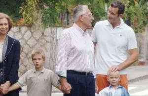 Iñaki Urdangarin, en plein scandale Noos, accablé par la mort de son père