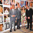 Bertrand Delanoë et le prince Albert II de Monaco