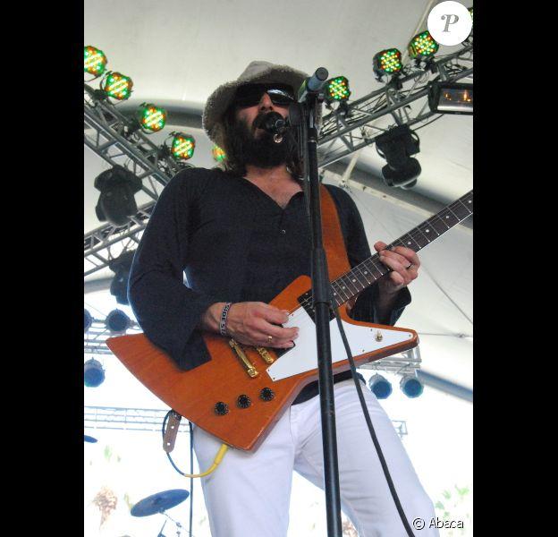 Sébastien Tellier en 2009 à Coachella