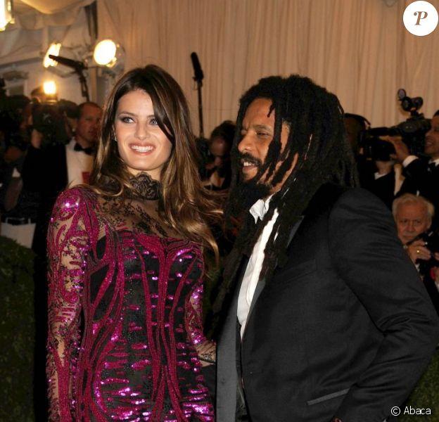 Rohan Marley et Isabeli Fontana le 7 mai 2012 à New York