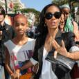 Jada Pinkett Smith et sa fille Willow, le mercredi 16 mai à Cannes.