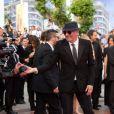 Présentation du film De rouille et d'os au festival de Cannes le 17 mai 2012 avec Jacques Audiard