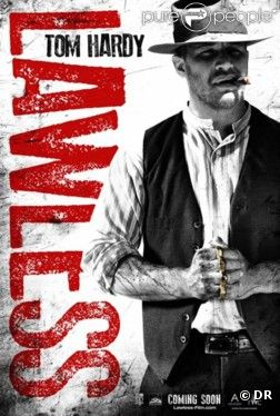 Affiche du film Des hommes sans loi (Lawless) avec Tom Hardy
