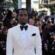 P. Diddy lors de la montée des marches du Palais des Festivals, pour la présentation du film Cogan - La Mort en Douce, à Cannes le 22 mai 2012