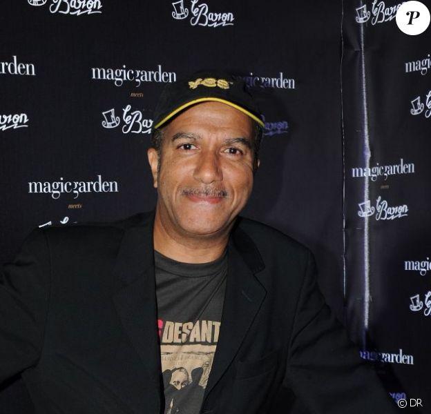 Pascal Legitimus au MagicGarden à Cannes le 24 mai 2012
