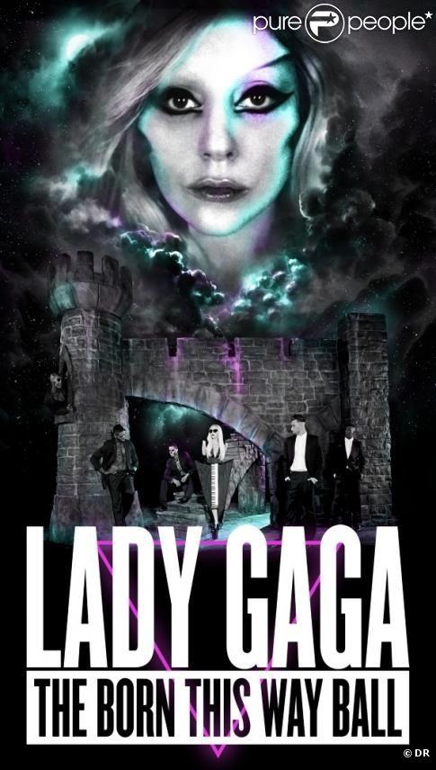 Lady Gaga présente, cette année, son  Born this way Ball Tour 2012 .