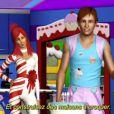 Katy Perry continue son aventure pleine de fantaisie avec  Les Sims 3  grâce au pack d'objets  Katy Perry Délices Sucrés , disponible le 7 juin 2012, et la version simlish de son tube  Last Friday Night  !