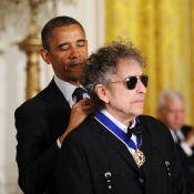 Barack Obama accorde la liberté à ses héros, le géant Bob Dylan reste de marbre