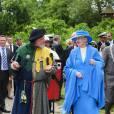 La reine Margrethe II de Danemark et le prince consort Henrik lors de leur croisière annuelle début juin 2012.