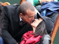 Jade Foret, enceinte, et Arnaud Lagardère : Tendres baisers à Roland-Garros