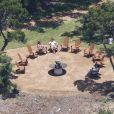 Camila Alves et Matthew McConaughey se sont mariés le 9 juin 2012 près de la ville d'Austin, dans l'Etat du Texas. Une petite centaine d'invités ont, dans le plus grand secret, rejoint le complexe de Old Oak Estate, privatisé pour l'occasion. Vues d'ensemble de l'événement