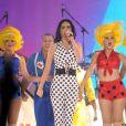 Katy Perry se produit dans le cadre du Capital FM Summerball 2012, au Wembley Stadium, à Londres, le samedi 9 juin 2012.