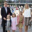 La princesse Maxima et le prince Willem-Alexander des Pays-Bas honoraient le 5 juin 2012 au Heineken Music Hall, avec leurs filles les princesses Catharina-Amalia, Alexia et Ariane, le concert de gala de 3 000 enfants bénéficiaires du programme Kinderen Maken Muziek.