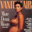 Demi Moore en couverture de  Vanity Fair  (1991).