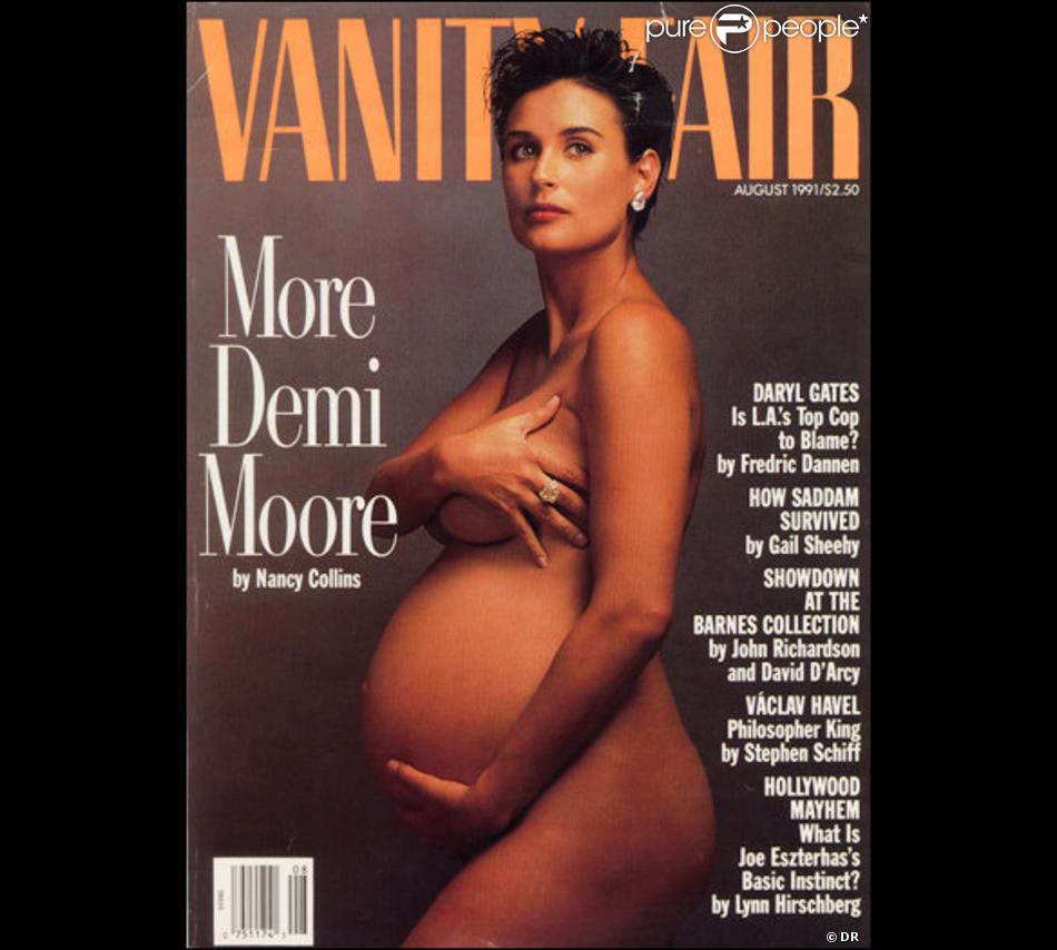 Demi moore vanity fair pregnant photo patient