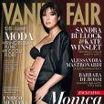 Monica Bellucci en couverture de  Vanity Fair  (2010).