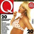 Britney Spears en couverture de  Q  (2006).