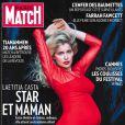Laetitia Casta en couverture de  Paris Match  (2009).