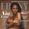 Nia Long en couverture du magazine  Ebony  (2011).