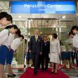 Le prince Philippe de Belgique au Panasonic Center à Osaka le 14 juin 2012.