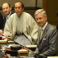 Le prince Philippe de Belgique à Kyoto le 15 juin 2012