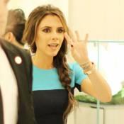 Victoria Beckham : Sublime en turquoise, elle est sa meilleure égérie