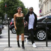Kim Kardashian et Kanye West : Dimanche en amoureux, sous le soleil parisien