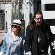 Sharon et Ozzy Osbourne en avril 2012 à Los Angeles