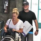 Hilary Duff : Radieuse avec ses rondeurs, elle n'a d'yeux que pour son Luca