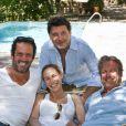 Vanessa Demouy, David Brécourt, Christian Vadim et Philippe Lellouche en 2010