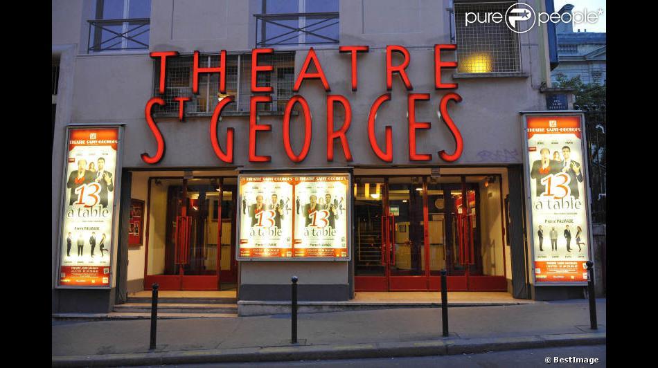 Le th tre saint georges paris for 13 a table theatre saint georges