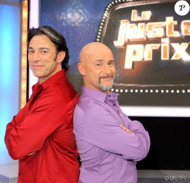 Vincent Lagaf' et Gérard Vives présentaient Le Juste Prix sur TF1 depuis juillet 2009.