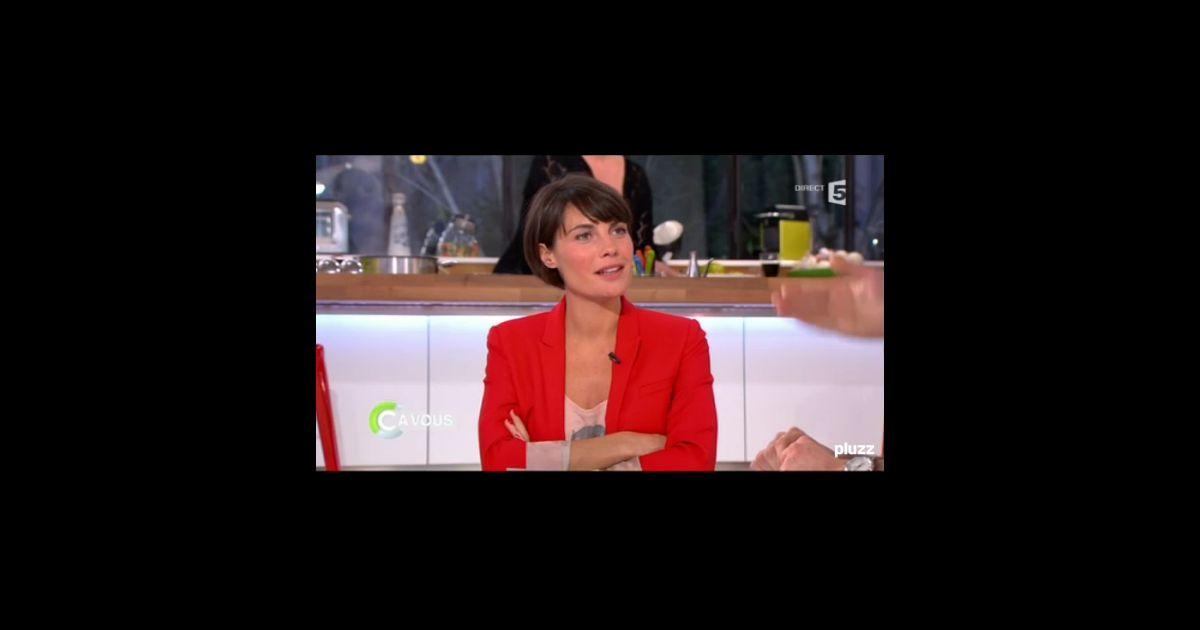 Alessandra sublet dans son mission c vous sur france 5 Emission deco france 5