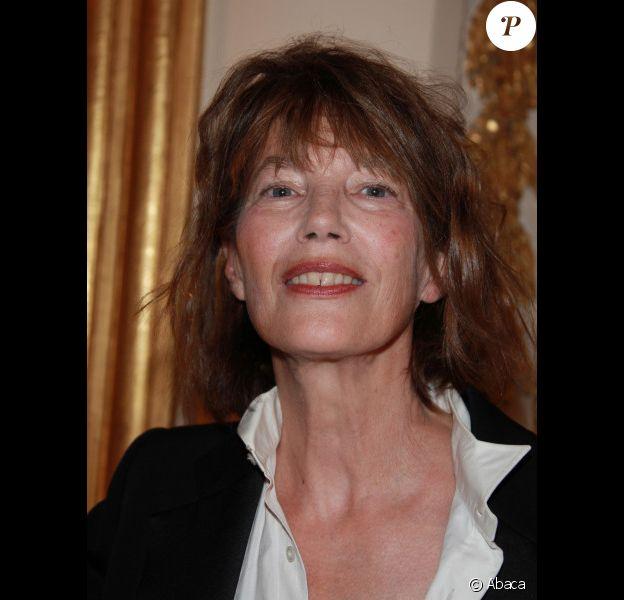 Jane Birkin en octobre 2011 à Paris