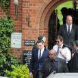Reg Traviss lors des obsèques d'Amy Winehouse le 26 juillet 2011
