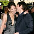 Tom Cruise et Katie Holmes, en juin 2005 à Los Angeles.