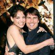 Tom Cruise et Katie Holmes, en juin 2005 à Los Angeles.