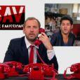 Fred Testot, Omar Sy et Jamel Debbouze dans le  SAV des émissions  du vendredi 29 juin 2012.