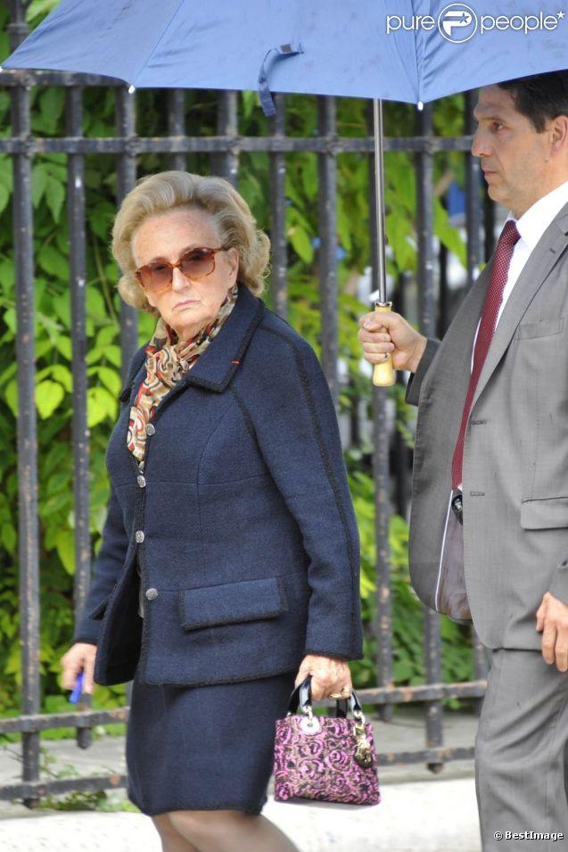 Bernadette Chirac le 21 juin 2012 à Paris