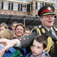 Le prince Willem-Alexander le 30 juin 2012 à La Haye pour la journée des anciens combattants.