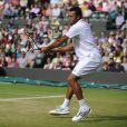 Jo-Wilfried Tsonga s'est qualifié pour la demi-finale de Wimbledon le 4 juillet 2012 en disposant de Philipp Kohlschreiber (7-6, 4-6, 7-6, 6-2)