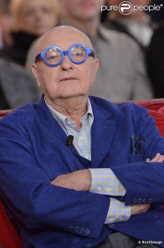 Jean-Pierre Coffe, sur le plateau de  Vivement dimanche , en janvier 2012.