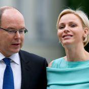 Princesse Charlene : Rayonnante dans sa tenue fétiche, en Allemagne avec Albert